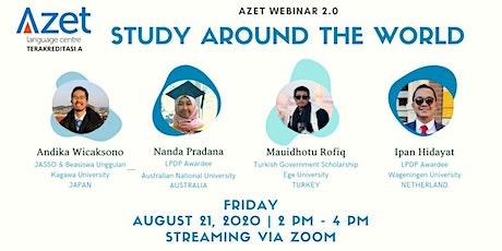 Talk show - Study Around The World : Australia, Japan, Turkey, Netherlands tickets