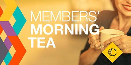 Member Morning Tea with Columbus Coffee tickets