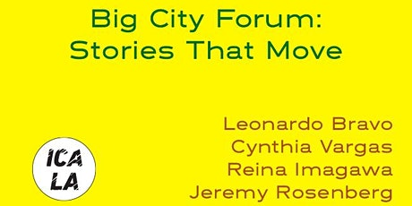 Big City Forum: Stories That Move tickets
