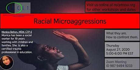 Racial Microaggressions tickets
