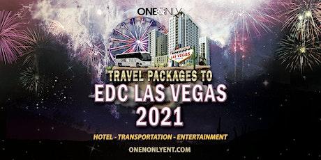 Travel Accommodations to EDC Las Vegas 2021 tickets