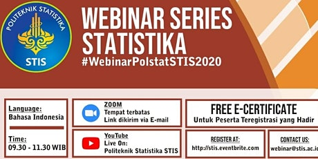 Webinar Statistika #10 | Step by Step of Econometric Modelling tickets