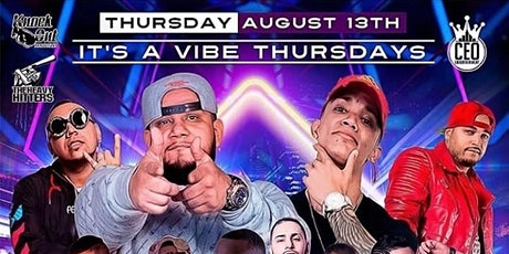 It's A Vibe Thursdays Patio Edition At Bamboleo Nightclub tickets