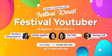 """""""Festival Youtuber"""" - Festival Kreasi 2020 tickets"""