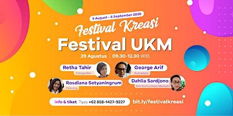 """Festival UKM"" - Festival Kreasi 2020 tickets"