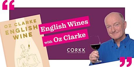 English Wine Tasting with Oz Clarke tickets
