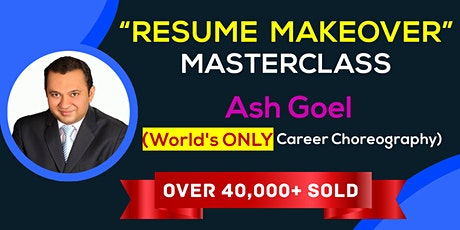 Resume Makeover Masterclass and 5-Day Job Search Bootcamp (Orange) tickets