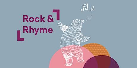 Rock & Rhyme @ Launceston Library tickets