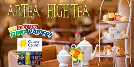 ARTEA- HIGH TEA for Cancer @ Red Rhino Room tickets
