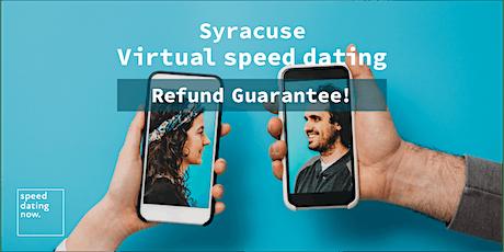 Syracuse Virtual Speed Dating ***MONEY BACK GUARANTEE!*** tickets