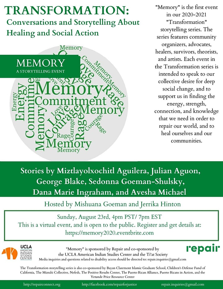 Memory: A Storytelling Event image