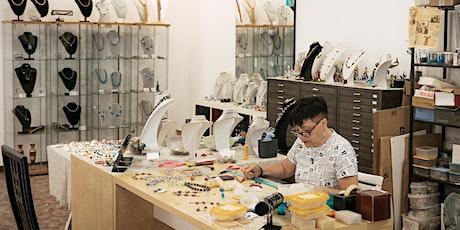 riVEmo - Dimostrazione realizzazione perla in vetro con Momylia biglietti