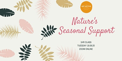Nature's  Seasonal Support Class