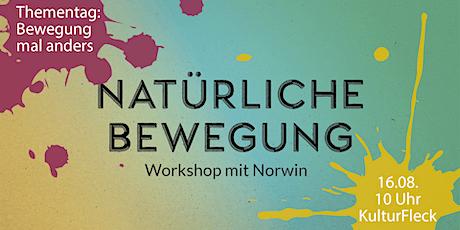 "Workshop: ""Bewegung mal anders – Natürliche Bewegung"" Tickets"