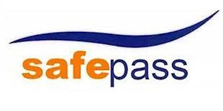Safe Pass Course tickets