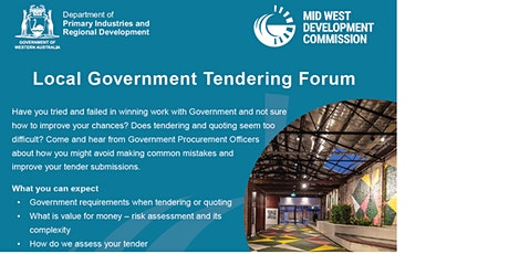 Midwest Tendering and Quoting forum tickets