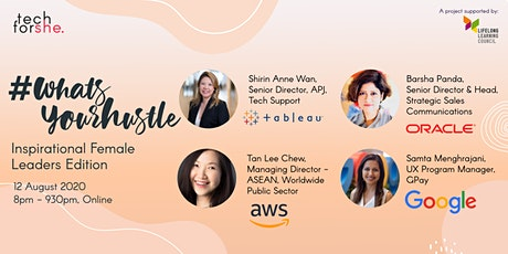 #WhatsYourHustle Panel Chat: Inspirational Female Leaders tickets