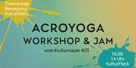"Workshop: ""Bewegung mal anders – AcroYoga"" Tickets"