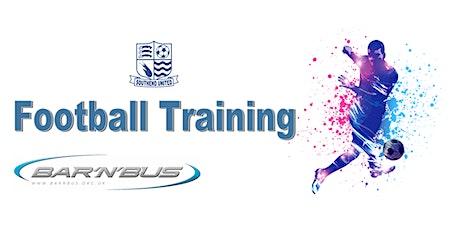 Bar 'n' Bus Football  Training tickets