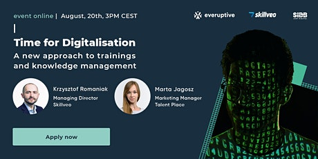 Digitalisation: A new approach to trainings and knowledge management tickets