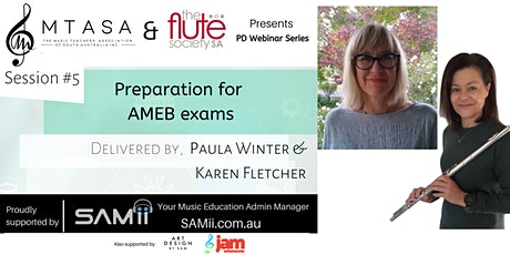 Exam Preparation for Music Teachers with the Flute Society of SA tickets