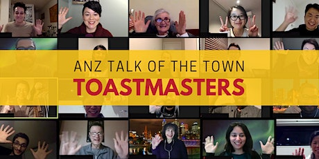 ANZ Talk of the Town Toastmasters ONLINE tickets