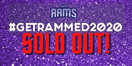#GetRammed 2020 - SOLD OUT tickets