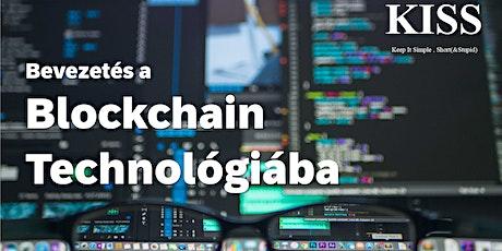Bevezetés a blockchain technológiába tickets