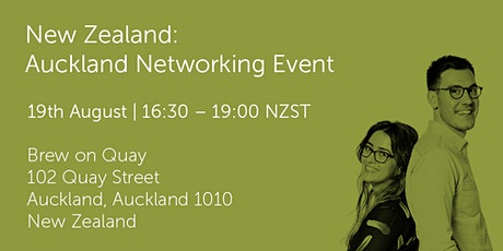 NZ190820 New Zealand: Auckland Networking Event tickets