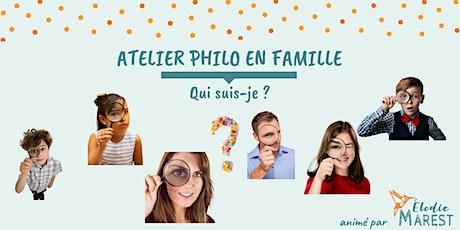 Atelier philo en famille : Qui suis-je ? billets