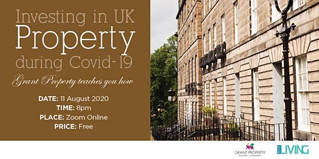 Investing in UK Property during Covid-19 tickets