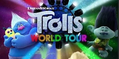 Trolls World Tour pop up cinema tickets