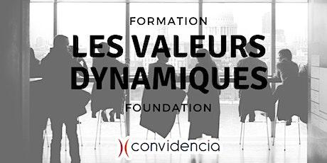 """Valeurs Dynamiques : """"Foundation""""  tickets"""