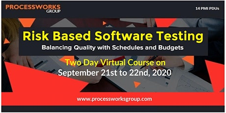 Risk Based Software Testing (Balancing quality with schedules and budgets) tickets