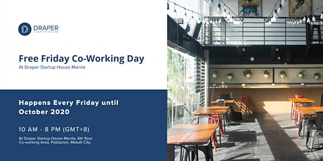Free Friday Co-Working Day tickets