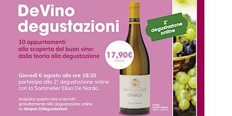 Copia di DeVino - Degustazione on line - lezione 3 biglietti