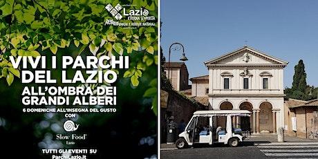 SLOW FOOD - L'Appia antica in minicar elettrica (turno ore 17:00) biglietti