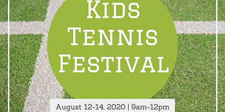 Free Kids Tennis Festival tickets