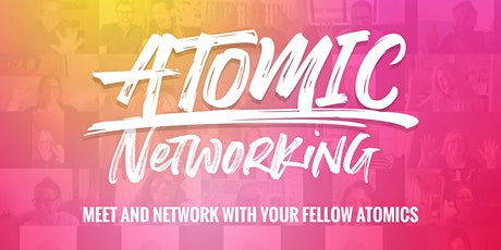 ATOMIC Networking | August Session tickets