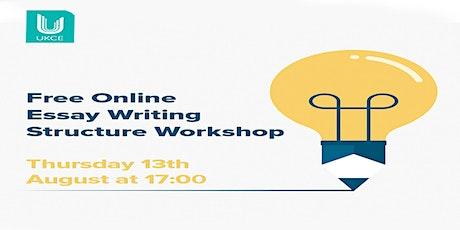 Free Online Essay Writing Structure Workshop tickets