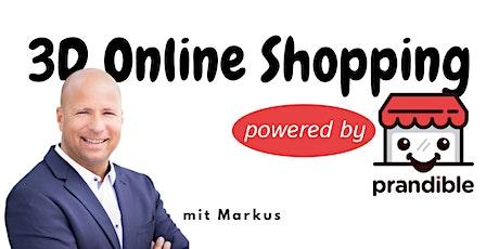 Virtuelles Einkaufen in 3D - Eintagsfliege oder Shopping-Standard? Tickets