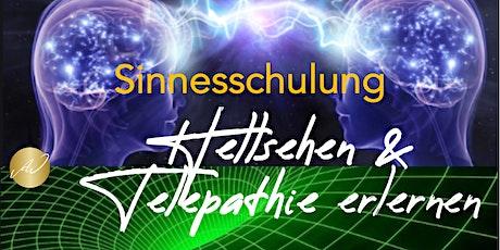 Sinnesschulung *Hellsehen & Telepathie erlernen Tickets