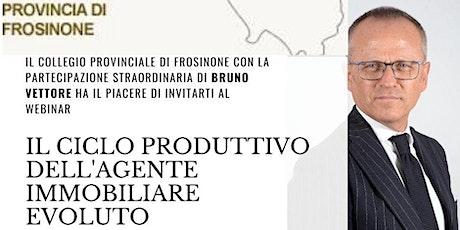 IL CICLO PRODUTTIVO DELL'AGENTE IMMOBILIARE EVOLUTO biglietti
