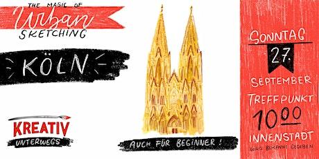 Urban Sketching in Köln -  Lerne deine Umgebung zu zeichnen tickets