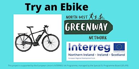 Try an Electric Bike (Ebike) tickets