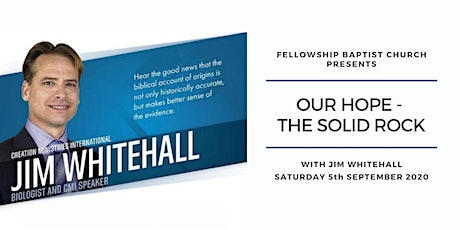 Our Hope - The Solid Rock with Jim Whitehall tickets