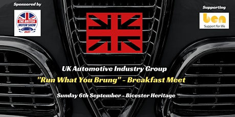 """UK Automotion Industry - """"Run What You Brung"""" Breakfast gathering tickets"""
