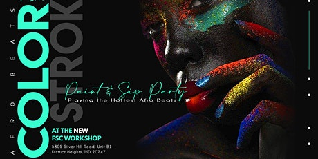 Afro Beats Paint N' Sip Night tickets