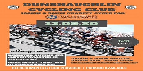 50km & 100km Charity Cycle tickets