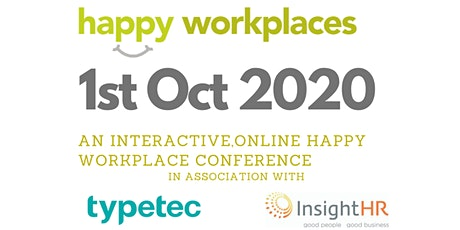 Happy Workplaces Ireland Online  2020 - Become a happier workplace tickets